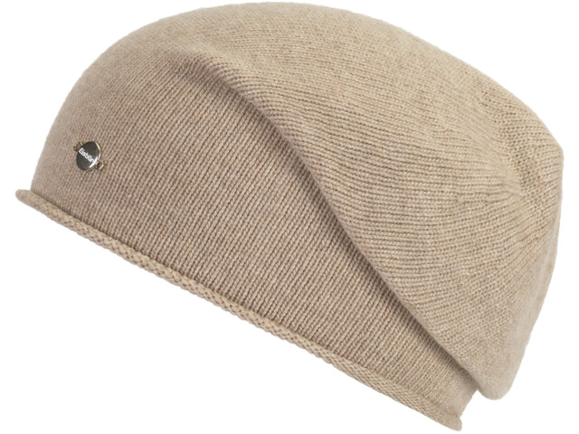 Eisbär Soft Oversize Mütze Herren beige mottled